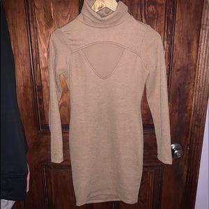 Turtleneck sweater dress hot miami styles